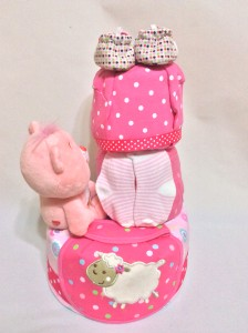 3-Tier-Rainbow-Care-Bear-Diaper Cake-Baby Gifts Singapore- Girl-Leanne-2