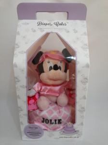 1 Tier -DiaperCakesSingapore-BabyGifts-MinnieMouse-Girl-Jolie-3