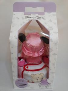 1 Tier -DiaperCakesSingapore-BabyGifts-MinnieMouse-Girl-Jolie-4