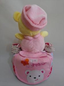 1 Tier -DiaperCakesSingapore-BabyGifts-WinnieThePooh-Girl-2