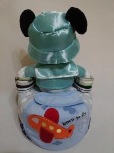 1Tier -DiaperCakesSingapore-BabyGifts-MickeyMouse-Boy-Caleb-2