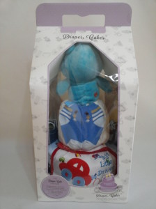2-Tier-Blue-Care-Bear-Diaper Cake-Baby Gifts Singapore- Boy-4