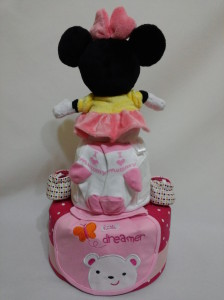 2 Tier -DiaperCakesSingapore-BabyGifts-Minnie-Mouse-Girl-lshana-2