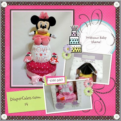 2 Tier -DiaperCakesSingapore-BabyGifts-Minnie-Mouse-Girl-lshana-5