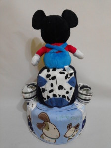 2Tier -DiaperCakesSingapore-BabyGifts-MickeyMouse-Boy-Noel-2