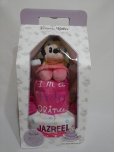 2Tier -DiaperCakesSingapore-BabyGifts-Minnie-Mouse-Girl-Jazreel-3