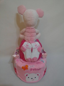 2Tier -DiaperCakesSingapore-BabyGifts-Piglet-Girl-2