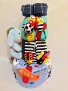 3 Tier -DiaperCakesSingapore-BabyGifts-Eeyore-Customized-Boy-2