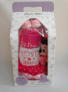 3 Tier -DiaperCakesSingapore-BabyGifts-Minnie-Mouse-Girl-3