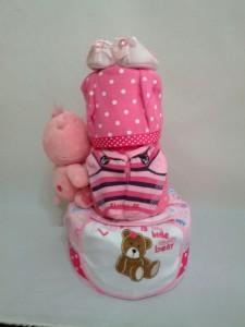 3-Tier-Rainbow-Care-Bear-Diaper Cake-Baby Gifts Singapore- Girl-Ishana-2
