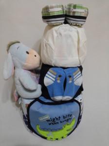 3Tier -DiaperCakesSingapore-BabyGifts-Eeyore-Boy-2