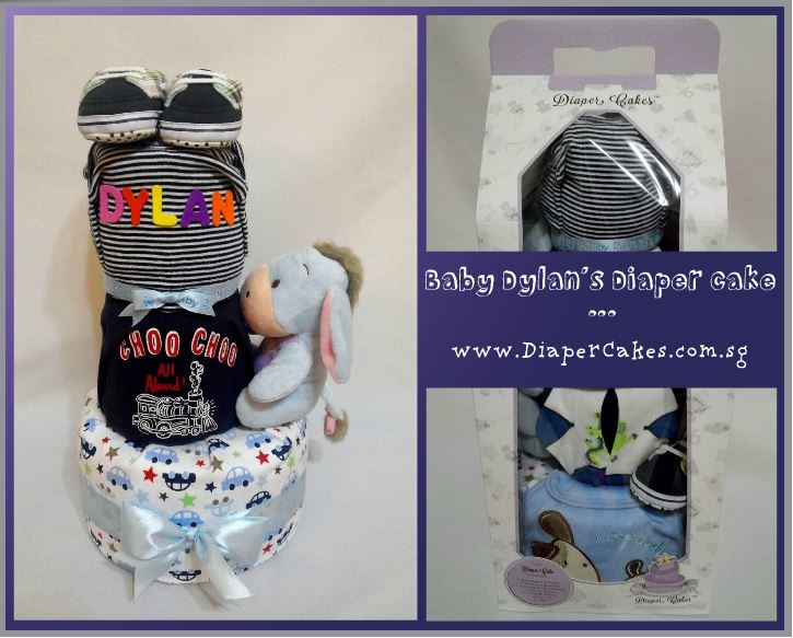 3Tier -DiaperCakesSingapore-BabyGifts-Eeyore-Boy-Dylan-5