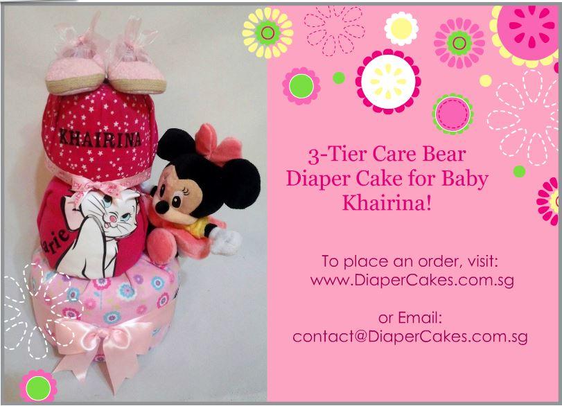 3Tier -DiaperCakesSingapore-BabyGifts-MinnieMouse-Girl-Khairina-5