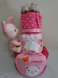 3Tier -DiaperCakesSingapore-BabyGifts-Piglet-Girl-2