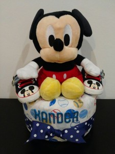 1Tier -DiaperCakesSingapore-BabyGifts-Mickey-Boy-Xander-1