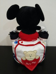 1Tier -DiaperCakesSingapore-BabyGifts-Mickey-Boy-Xander-2