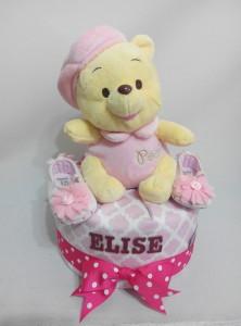 1Tier-DiaperCakesSingapore-BabyGifts-Pooh-Girl-Elise-1