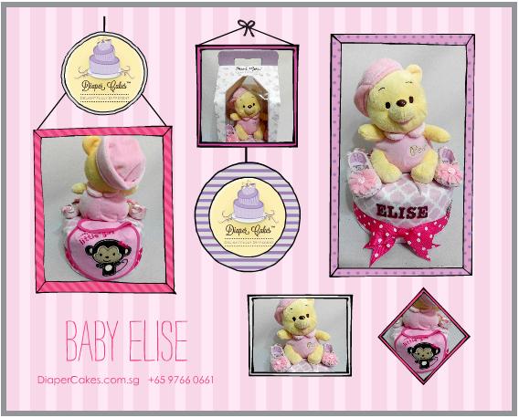 1Tier-DiaperCakesSingapore-BabyGifts-Pooh-Girl-Elise-5