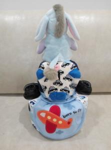2 Tier -DiaperCakesSingapore-BabyGifts-Eeyore-Boy-2