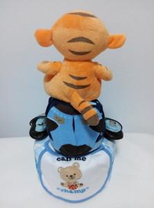 2 Tier -DiaperCakesSingapore-BabyGifts-Tigger-Boy-2