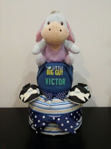 2Tier -DiaperCakesSingapore-BabyGifts-Eeyore-Boy-Victor-1