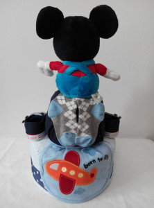 2Tier-DiaperCakesSingapore-BabyGifts-Mickey-Boy-2