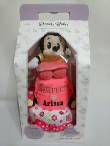 2Tier-DiaperCakesSingapore-BabyGifts-Minnie-Girl-Arissa-3