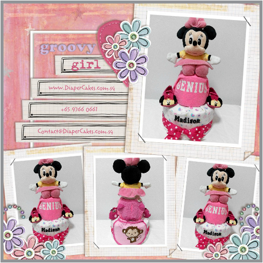 2Tier-DiaperCakesSingapore-BabyGifts-MinnieMouse-Girl-Madison-3