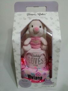 2Tier -DiaperCakesSingapore-BabyGifts-Piglet-Girl-Viviana-3