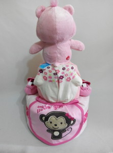 2Tier-DiaperCakesSingapore-BabyGifts-PinkCare-Girl-2