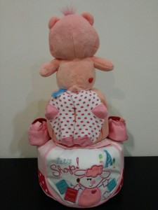 2Tier -DiaperCakesSingapore-BabyGifts-RainbowCareBear-Girl-Alyssa-2