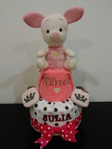 2Tier -DiaperCakesSingapore-BabyGifts-Twins-Piglet-Girl-Julia-1