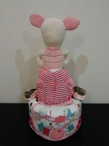 2Tier -DiaperCakesSingapore-BabyGifts-Twins-Piglet-Girl-Julia-2