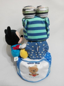 3Tier -DiaperCakesSingapore-BabyGifts-Mickey-Boy-2