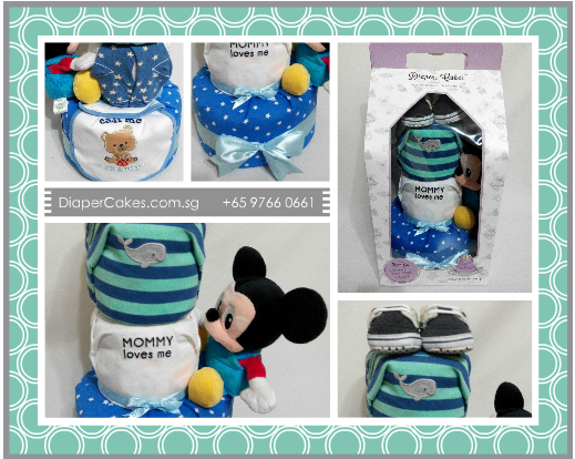 3Tier -DiaperCakesSingapore-BabyGifts-Mickey-Boy-5