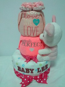 3Tier-DiaperCakesSingapore-BabyGifts-Piglet-Girl-BabyLee-1