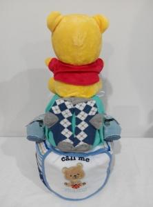 2Tier-DiaperCakesSingapore-BabyGifts-Boy-Pooh-GuanRui-2