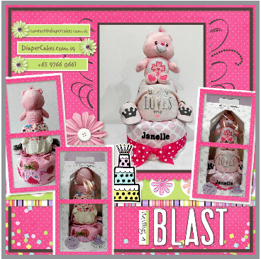 2Tier-DiaperCakesSingapore-BabyGifts-CareBear-Janelle-5