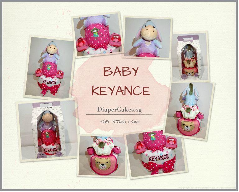 2Tier-DiaperCakesSingapore-BabyGifts-Eeyore-Girl-Keyance-5