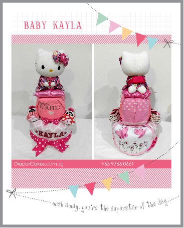2Tier-DiaperCakesSingapore-BabyGifts-Girl-HelloKitty-Kayla-3