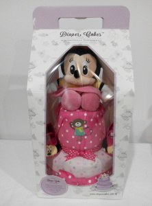 2Tier-DiaperCakesSingapore-BabyGifts-Girl-Minnie-3