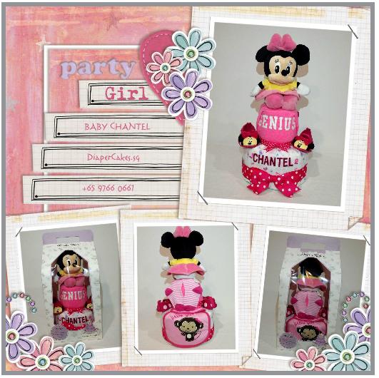 2Tier-DiaperCakesSingapore-BabyGifts-Girl-Minnie-Chantel-5