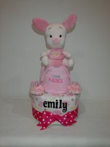 2Tier-DiaperCakesSingapore-BabyGifts-Girl-Piglet-Emily-1