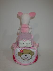 2Tier-DiaperCakesSingapore-BabyGifts-Girl-Piglet-Emily-2