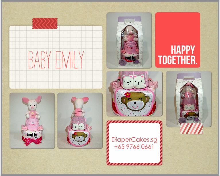 2Tier-DiaperCakesSingapore-BabyGifts-Girl-Piglet-Emily-5