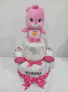 2Tier-DiaperCakesSingapore-BabyGifts-Girl-WonderBear-Kendra-1