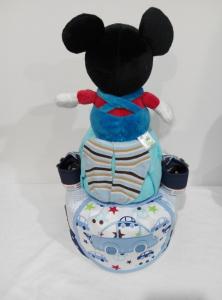 2Tier-DiaperCakesSingapore-BabyGifts-Mickey-Boy-Euan-2