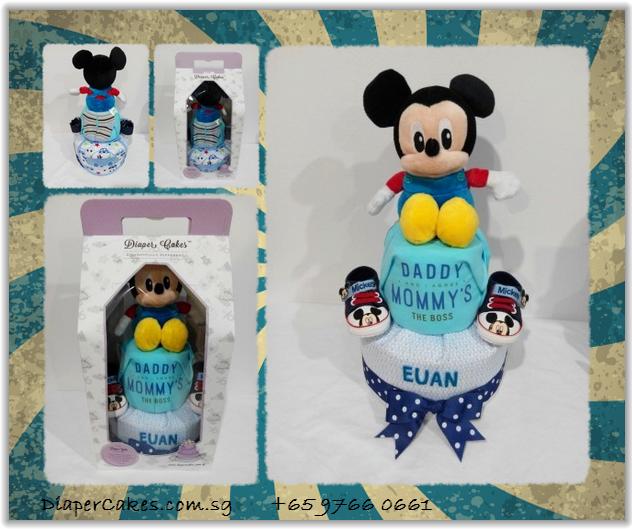 2Tier-DiaperCakesSingapore-BabyGifts-Mickey-Boy-Euan-5