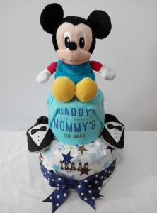 2Tier-DiaperCakesSingapore-BabyGifts-Mickey-Boy-Isaac-1