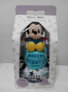 2Tier-DiaperCakesSingapore-BabyGifts-Mickey-Boy-Isaac-3